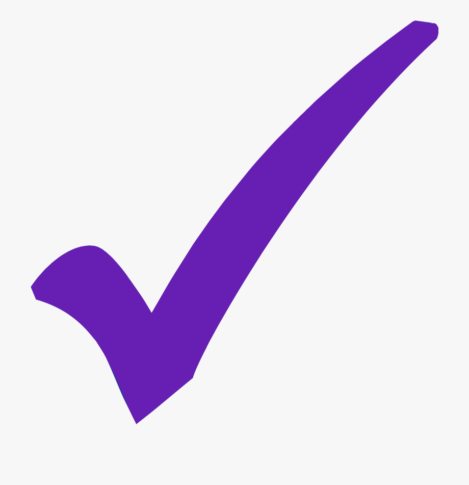 Small Purple Checkmark