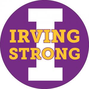 Irving Strong emblem
