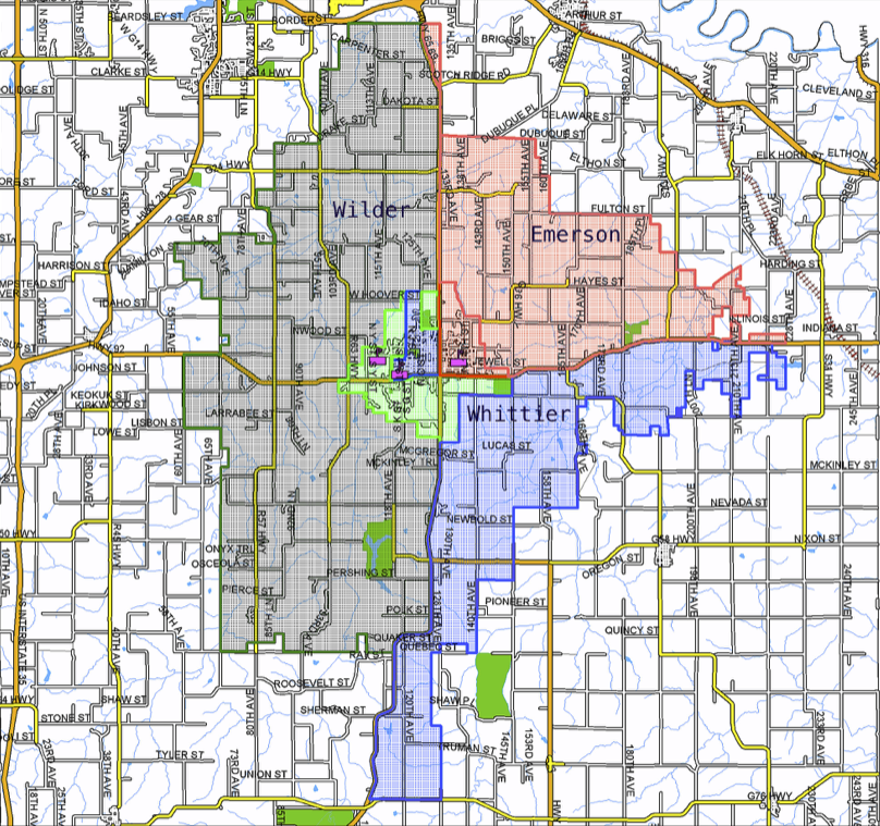 School Boundaries - Indianola Community School District