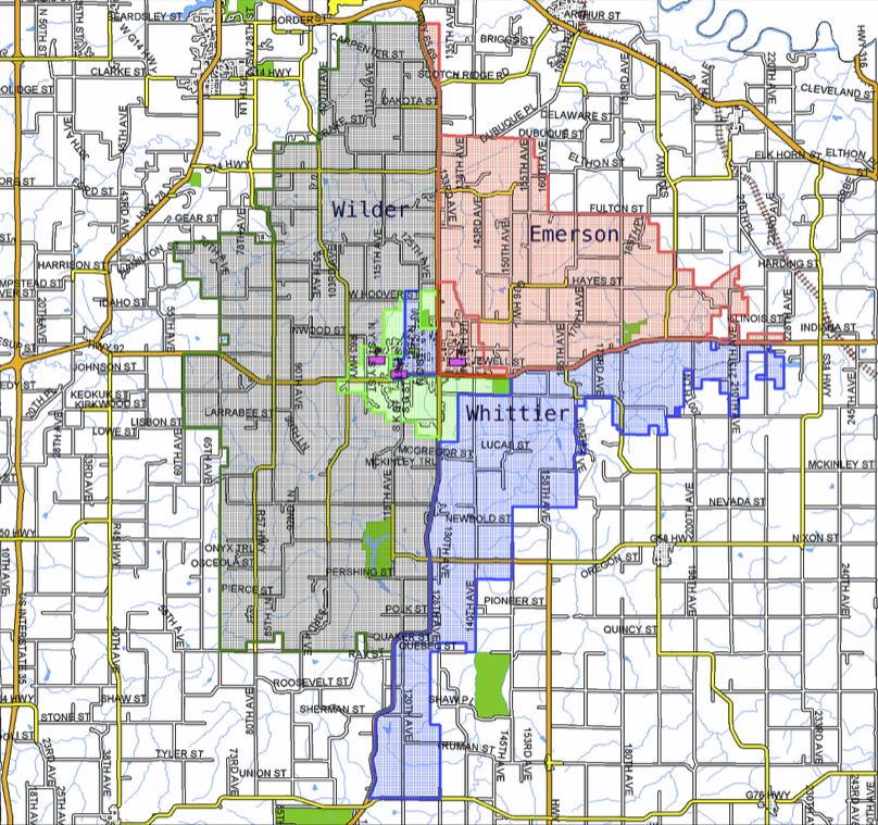 ICSD Elementary School Zones