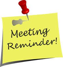 Meeting reminder image