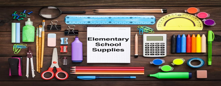 Picture of General Elementary School Supplies